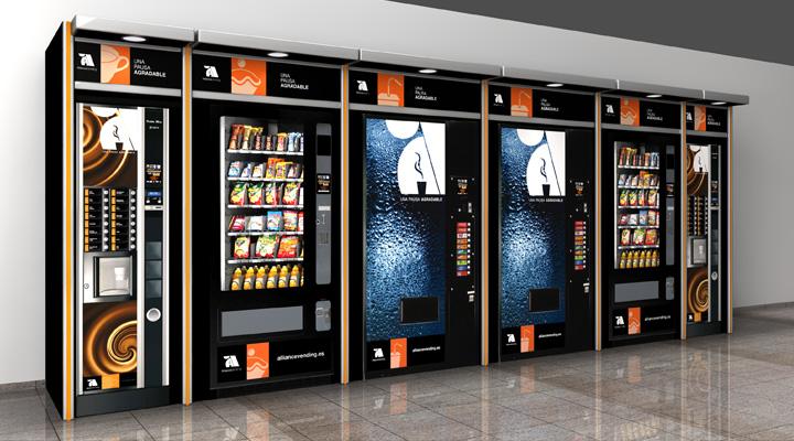 La máquina de \'vending\' no sustituye al comedor de empresa — LexNear.com
