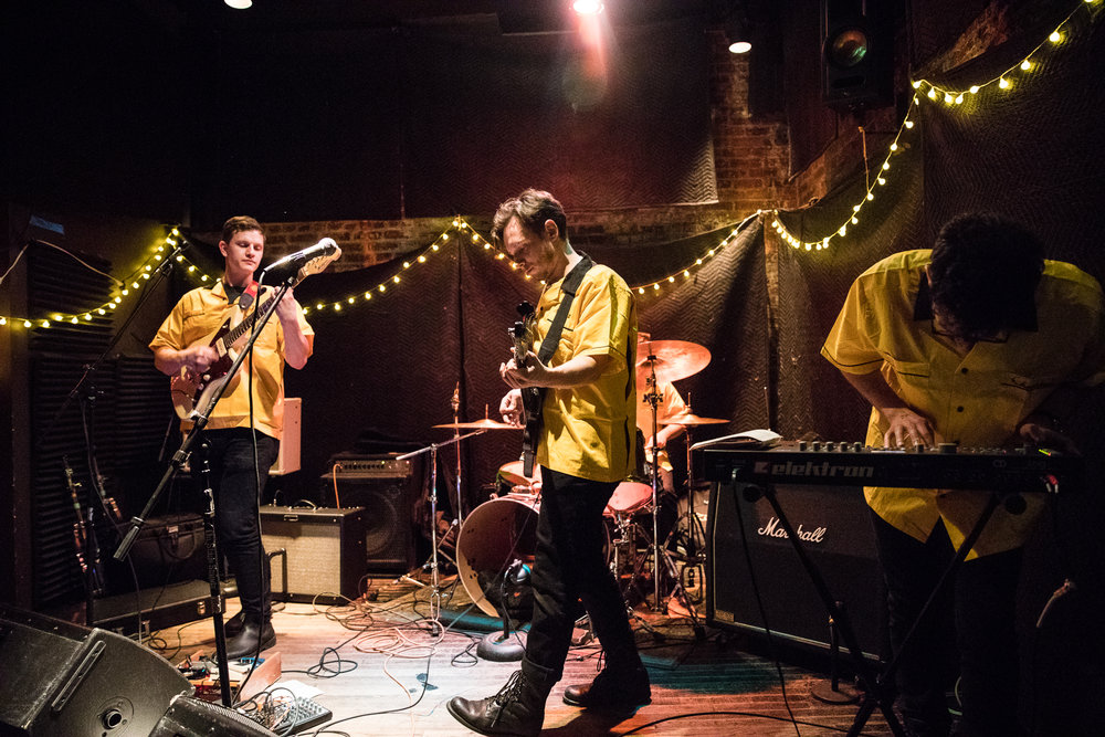 CUP celebrates the release of a new record tonight at Baby's All Right. Photo: Jeanette D. Moses