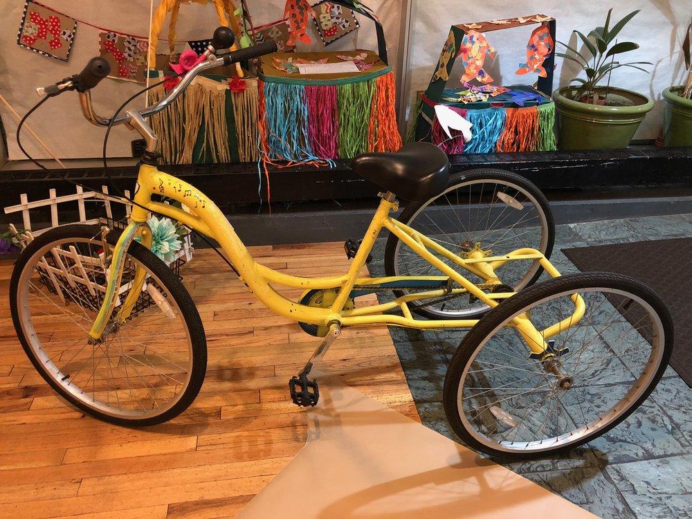 Pre-Brightened Bike