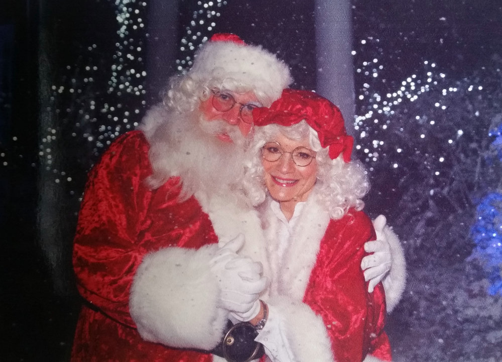 Holiday in the Park, 2015 Six Flags Magic Mountain Santa & Mrs. Claus: James M. & Paula Wahla