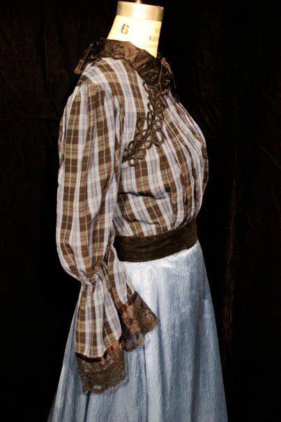 Spring Awakening, 2012 San Francisco State University Director: Barbara Damashek  Designer: Myself  Stock blouse & Skirt redecorated for time period