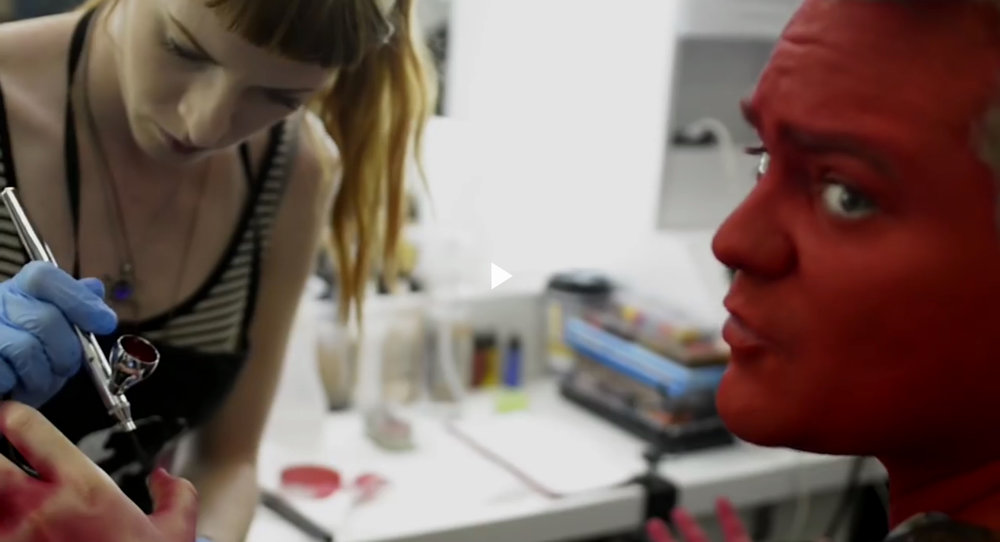 Oscar's Hotel, 2015 Production: New Form Digital Director: PJ Liguori  Makeup Dept. Head: Chloe Sens