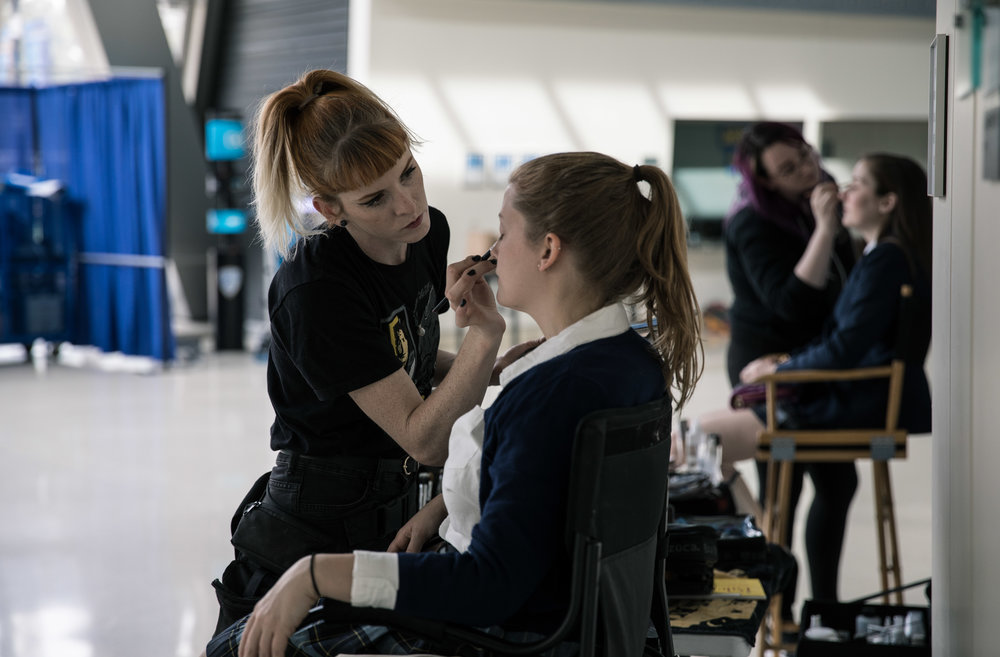 Girl Fight, 2018  UCLA Film School  Director: Kristi Hoi  Actress: Julia Keelan Angley  Photographer: Lambert Grand