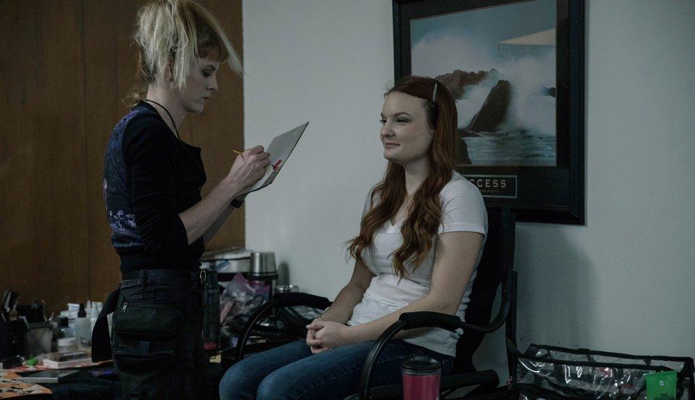 Girl Fight, 2018  UCLA Film School  Director: Kristi Hoi  Actress: Abbie Georganna  Photographer: Lambert Grand
