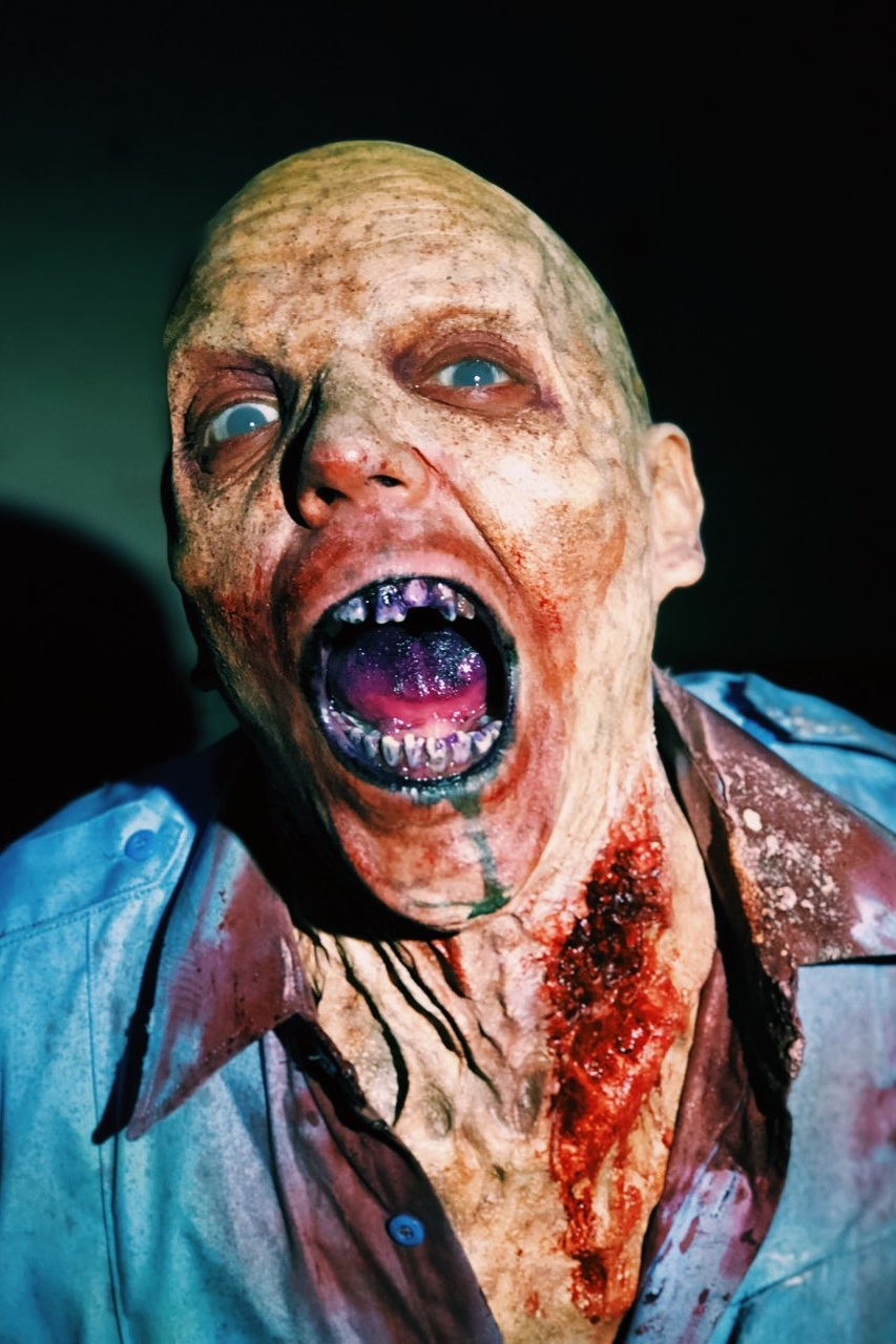 E3: Resident Evil 2, 2018 Production: Resident Evil 2 & Capcom Makeup Department Head: Sherrie Long Actor: Jonathan Castile Makeup provided by: RBFX, EBA Performance Makeup, PT Material, & Mouth FX