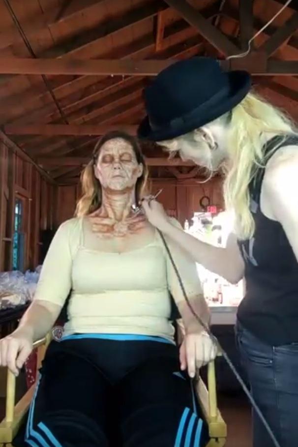 Warner Bros: Horror Made Here, 2018  Production: Warner Bros Studio Tour Hollywood  Makeup Dept. Head: David Woodruff  Actress: Ragnhild Bjorge