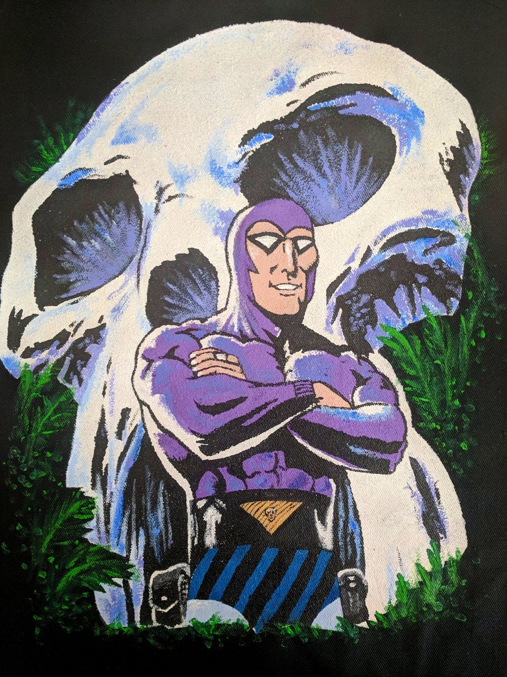 The Phantom, 2018  Acrylic  on canvas apron