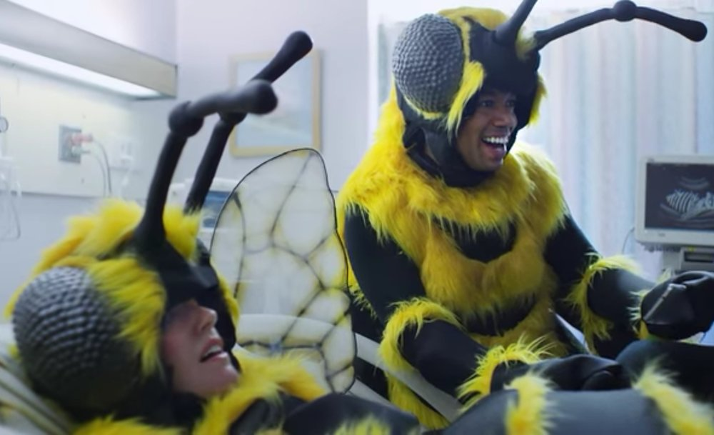 Snapple: Bee Commercial, 2015  Creature FX  Costume Designer/Head: Reggie Rizzo  Assisted in construction of suits, mostly sewing on fur trim and base construction.