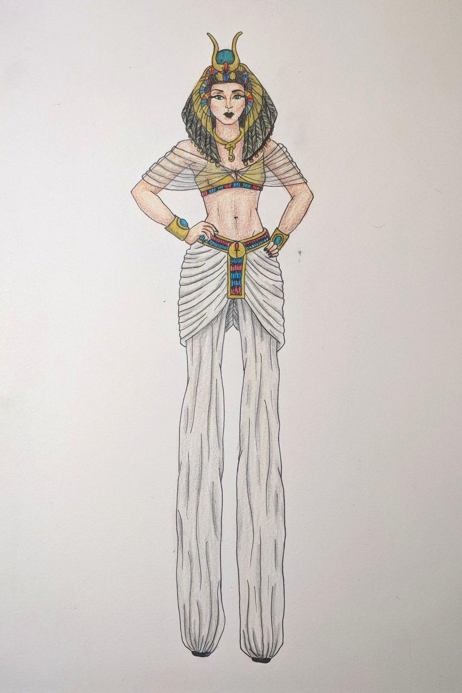The Mummy Ride costume re-design pitch, 2015
