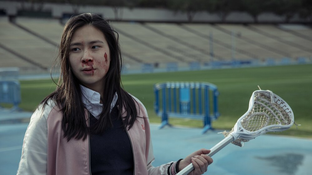 Girl Fight, 2018  Production: UCLA Film School  Director: Kristi Hoi  Actress: Alison Chang  Assistant: Holdyn Bray
