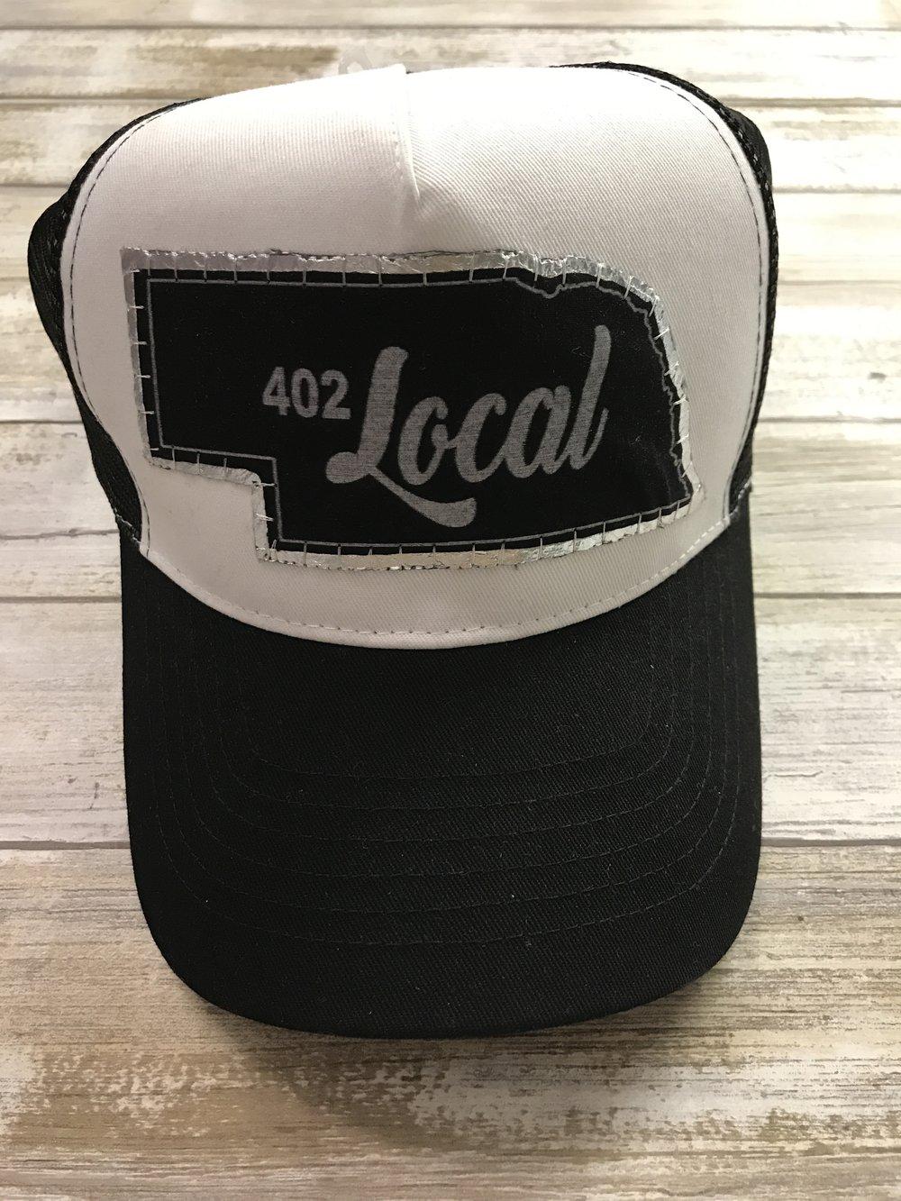 402 Local- Black Trucker Hat \u2014 Ash \u0026 Co.