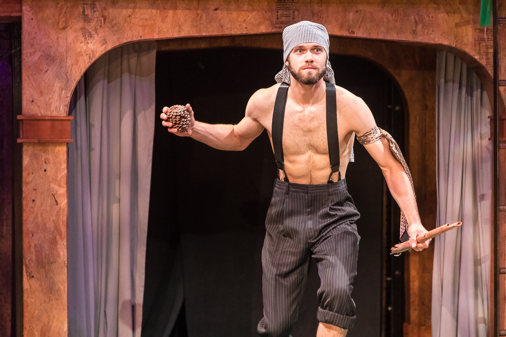 Oliver in As You Like It