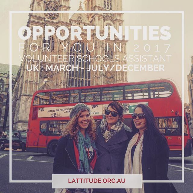 What are you up to March - July or March - December this year? Take this opportunity and move to the UK! Volunteer as a schools assistant, be a mentor to students, and live life like a local in England!  2 positions available for Girls Schools - If you're interested give us a call today! Get started on your application, click the link in our bio! #travel #volunteer #uk #england #london #gooverseas #volunteerabroad #gapyear #planschange #afterresults #postexams #unicanwait #UKliving #adventure #lifeskills #experience