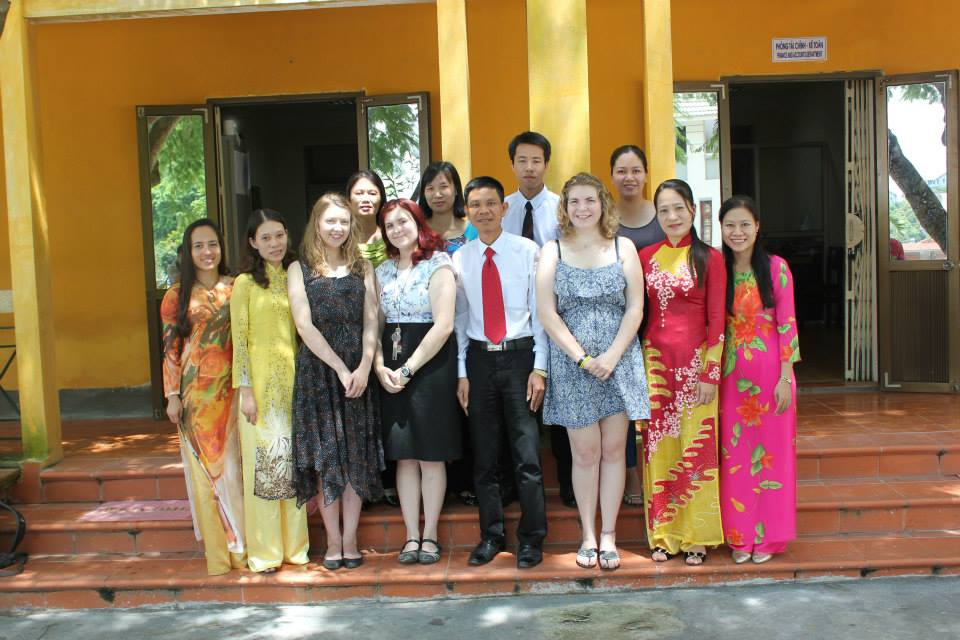 Teaching in Vietnam on my gap year