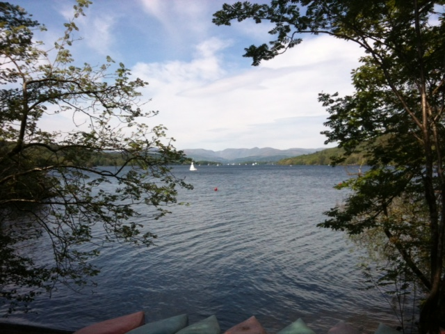 View from Canoes Outdoor Activities UK Volunteering
