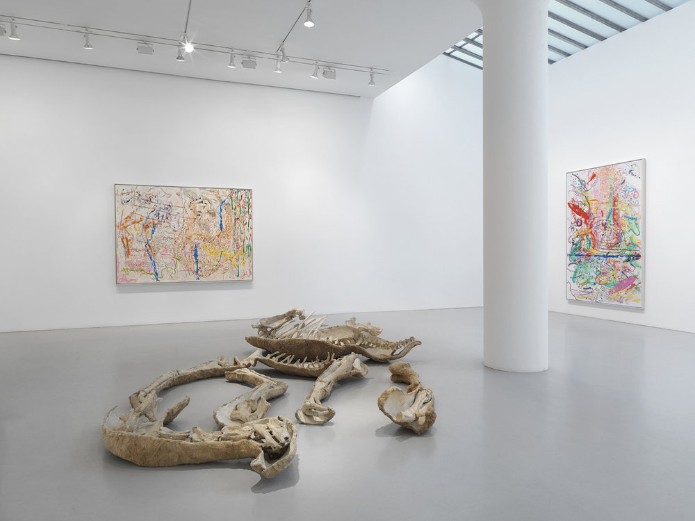 Nancy Graves,  exhibition at the Mitchell-Innes and Nash Gallery, New York City, 2015.