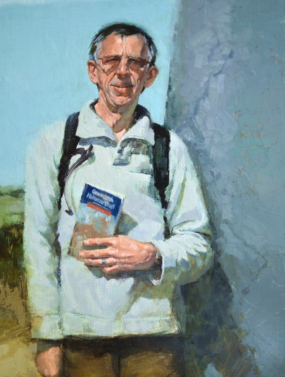 Greenwich Meridian Trail      oil        ROI Annual Show 2014, 1st Place W&N Young Artist's Award