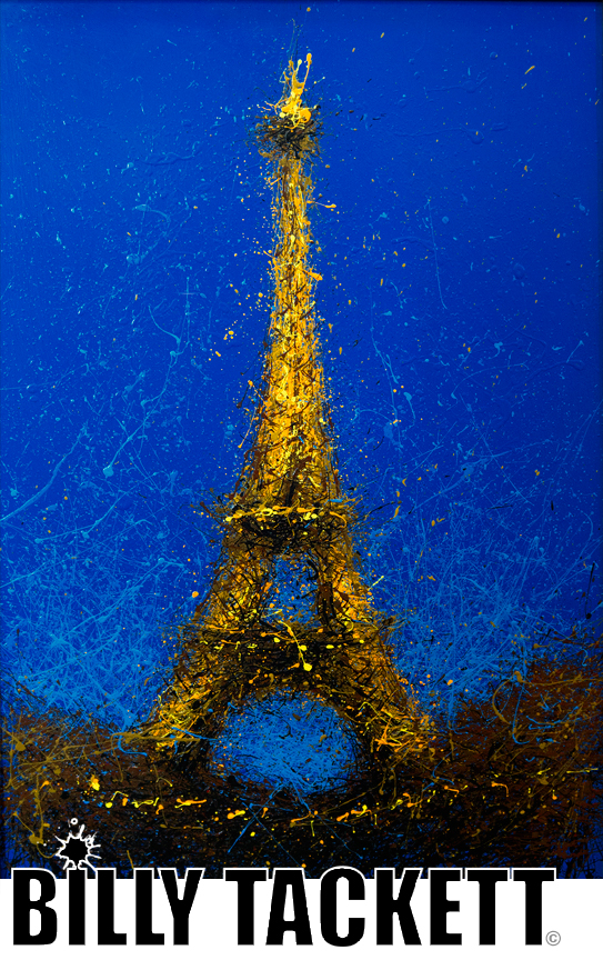 Eiffel Tower - SOLD