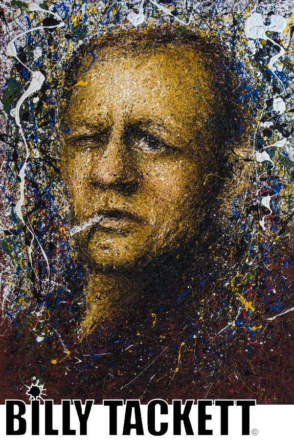 Portrait of Pollock - SOLD