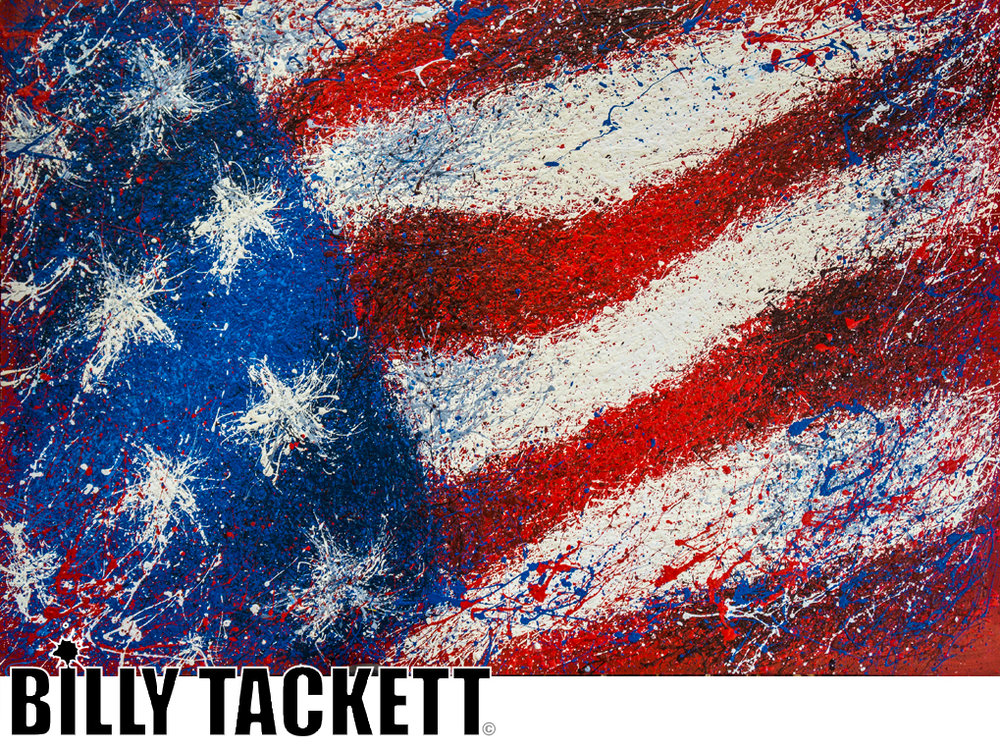 AMERICAN FLAG - SOLD