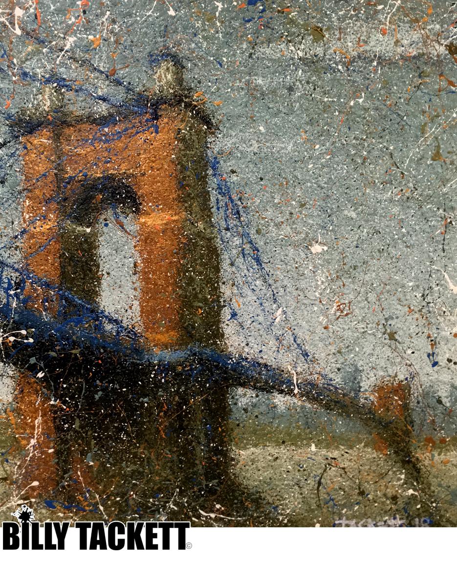 Roebling Bridge III -  SOLD