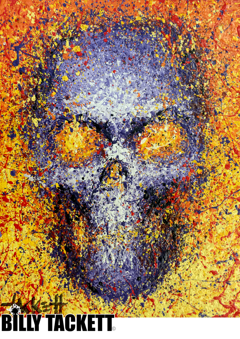 PURPLE SKULL - SOLD