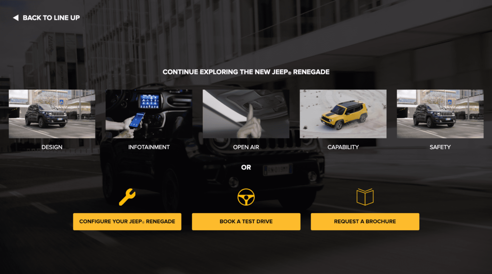 Jeep Interactive Video by WIREWAX