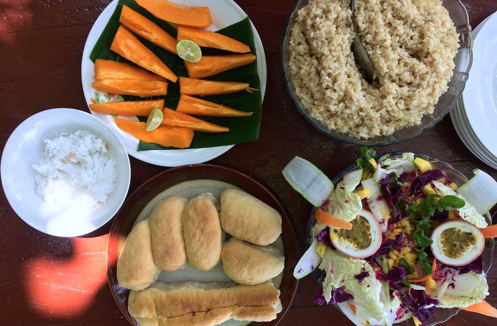 Gonubalabala Island Tauwase Homestay Lunch