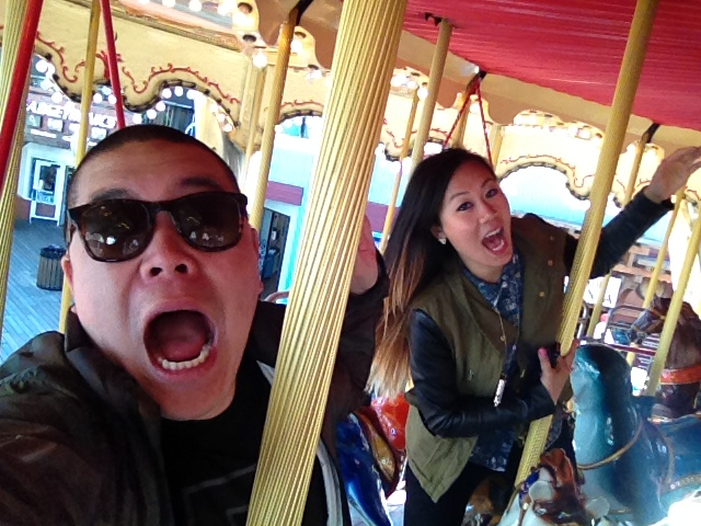 Merry-go-rounding in SF!