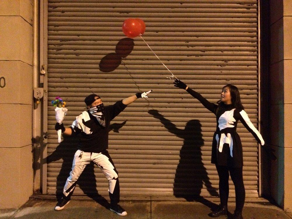 Banksy costumes Halloween 2013