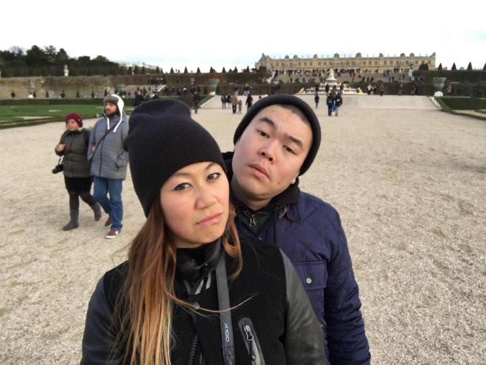 Looking hard at Versailles in 2015.