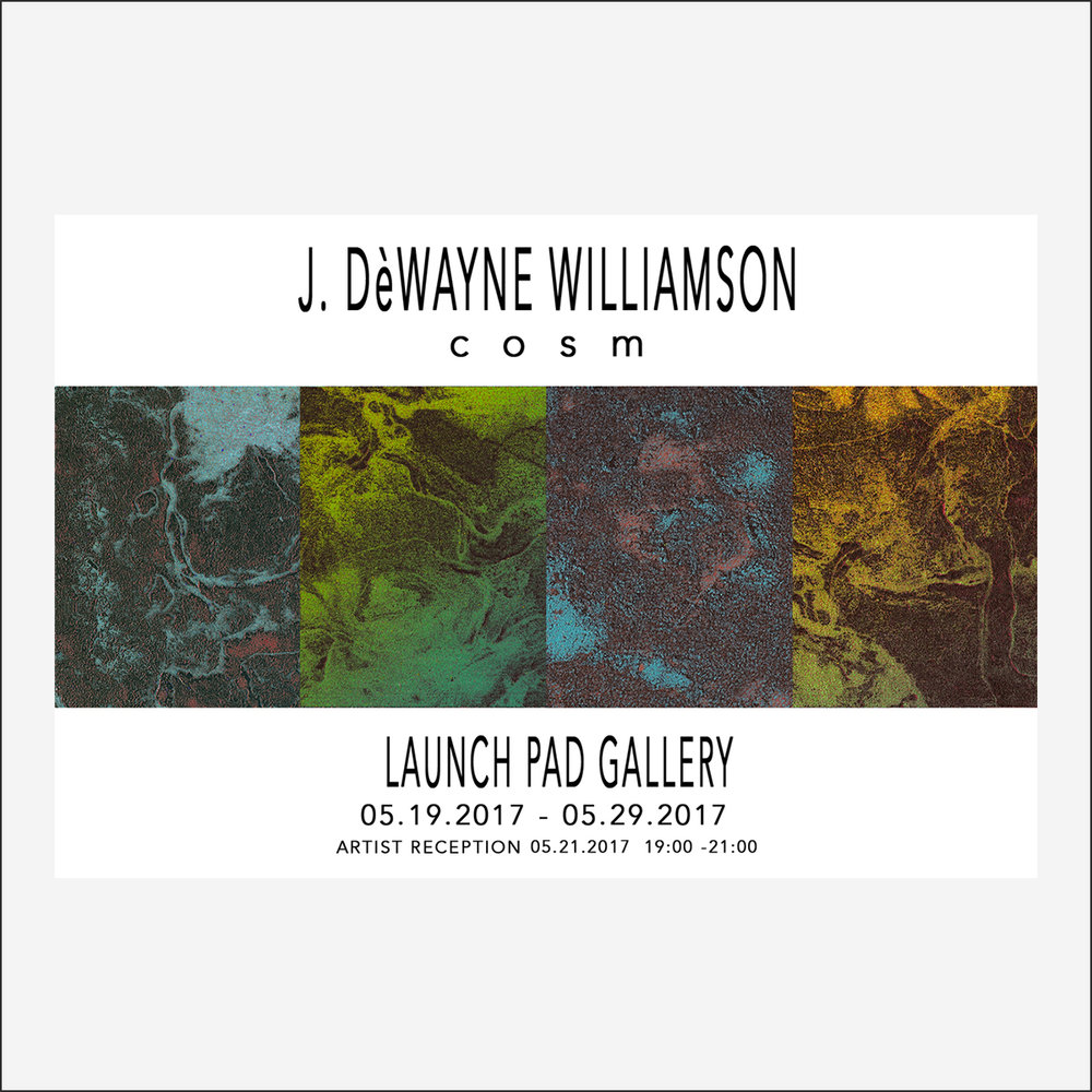 J. DÈWAYNE WILLIAMSOM 05.19.2017