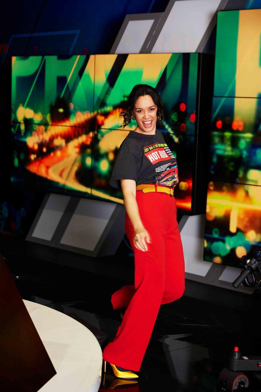 TV Presenter Kanoa Llyod