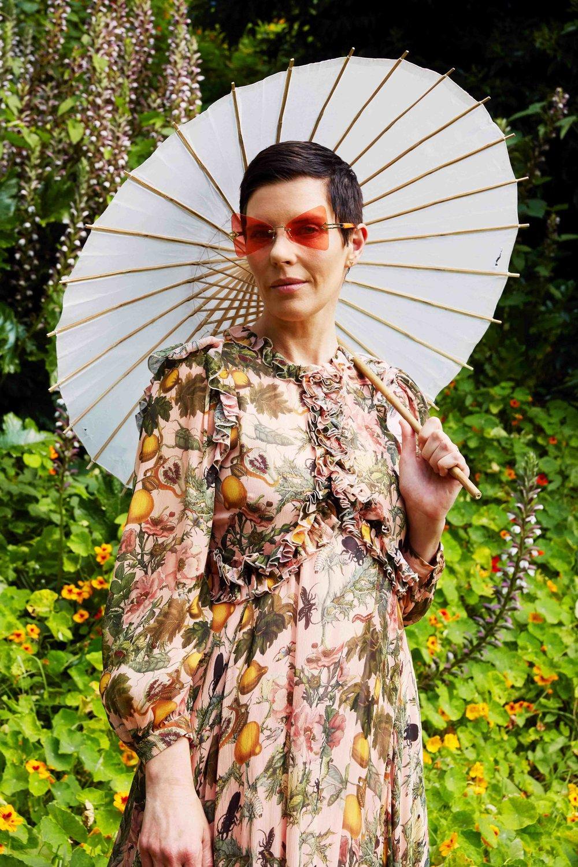 Fashion designer Karen Walker
