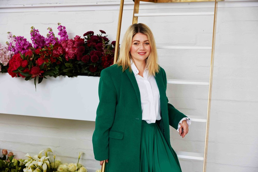Kelly Karam, Florist
