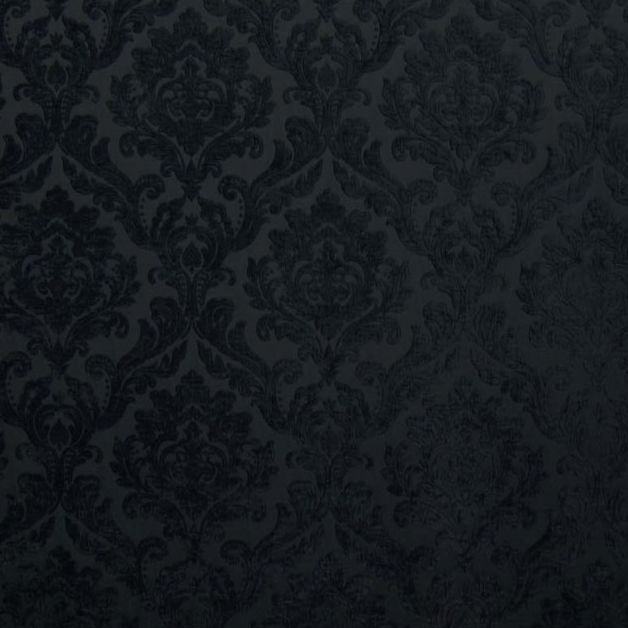 modmix studio silver grey black damask velvet color black