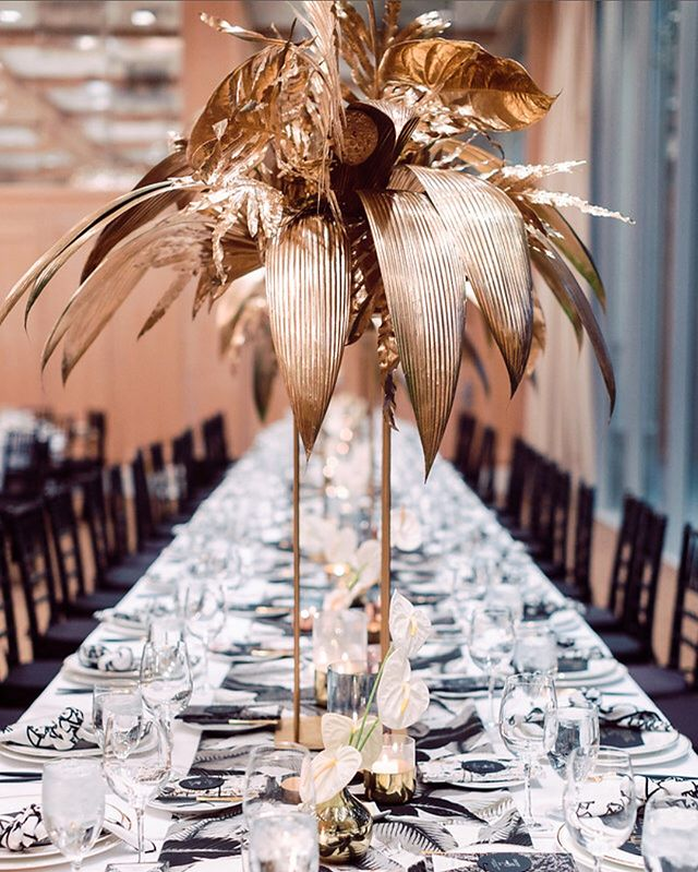 Did y'all catch this Tropical Glam gem by @roandcoevents on @greenweddingshoes yesterday? It's a must-see! 🌴 . . Media: @greenweddingshoes | Bride: Ali of @joinstylelab | Photography: @janawilliamsphotos_ | Venue: @parkerpalmsprings | Planning & Design: @roandcoevents | Floral: @oftheflowers | Hair: @styledbyalisha | Makeup: @kissthebridemakeup | DJ: @djsmilesdavis | Furniture and Lighting: @sigpartyrentals | Furniture:  @witty_rentals | Cocktail table linens: @latavolalinen | Table runners: @modmixstudio | Napkins: @hostesshaven | Flatware rentals: @borrowedblu | Invitations and Event Day Paper and Signage: @primandpixie | Save the dates: @copperwillowps | Videography:  @hoo_films | Wedding gown: @marchesafashion | Bride's shoes: @gianvitorossi | Groom's tux: @giorgioarmani | Groom's shoes: @Ferragamo | Groom's bowtie: @gucci | Groomsmen's attire: @theblacktux | Cigar roller: @thecigarguys