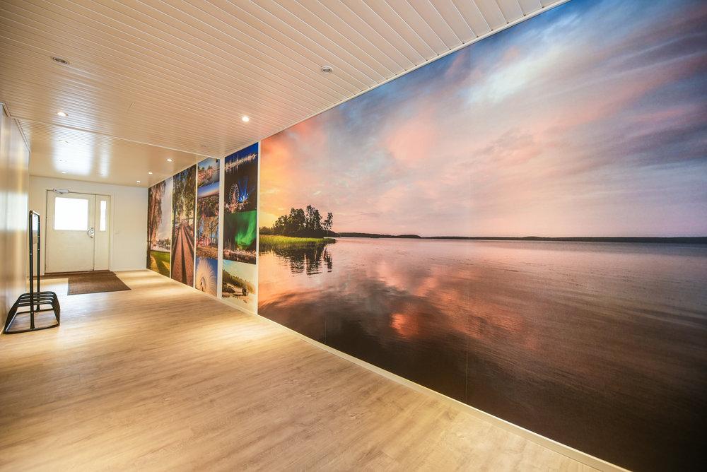 Den här finns på Ormnäs Camping, i gången då du går till Bossa Nova Beach Club. 10,5 meter lång.
