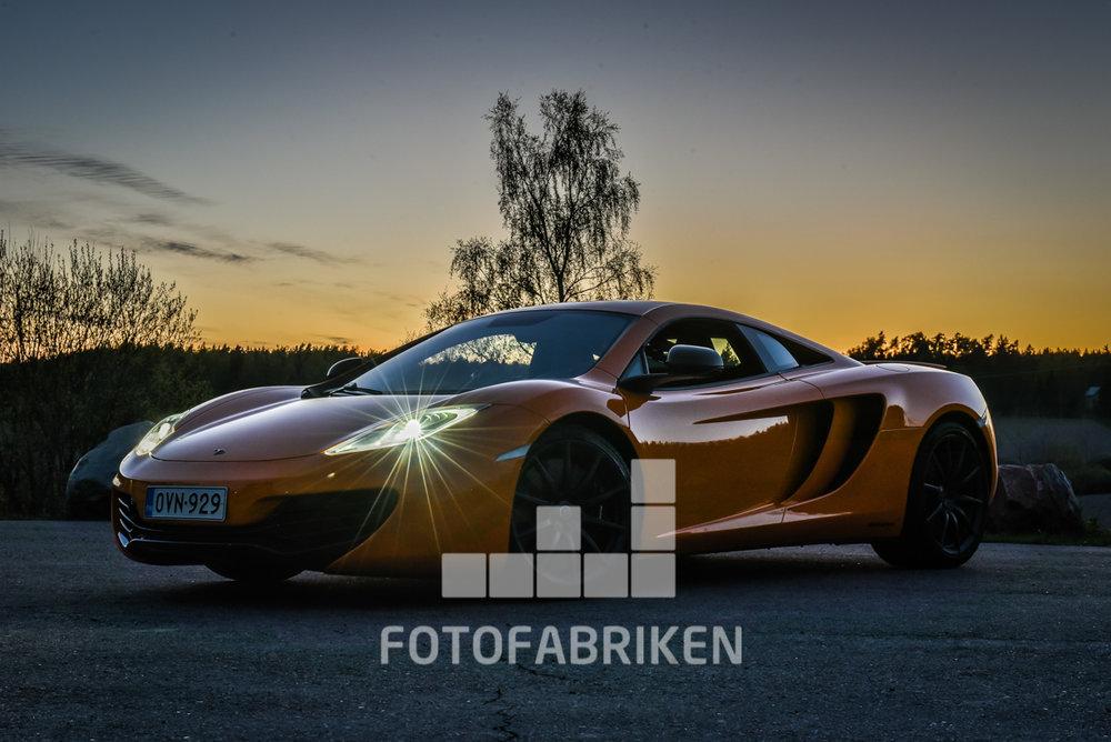 Den här McLaren är till salu:) Wrooom...