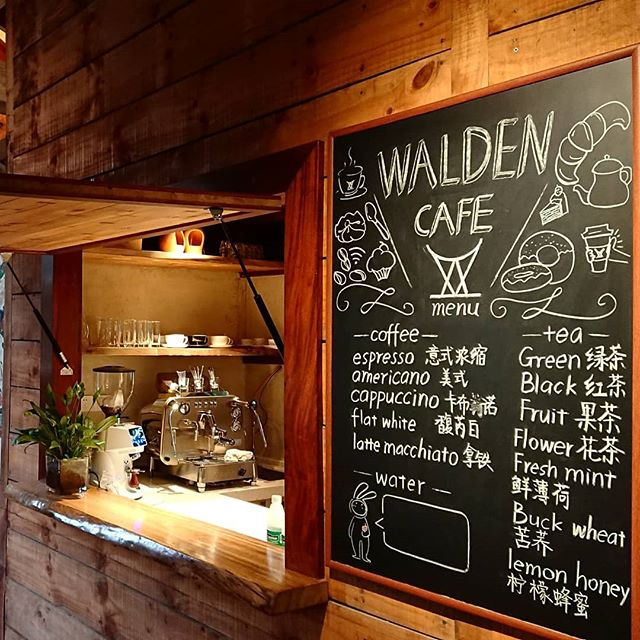 Finally our Walden Café is up and running! Volunteers, internship students and employees worked together on setting up this beautiful place! Now people can enjoy delicious, fresh made drinks @walden_farm