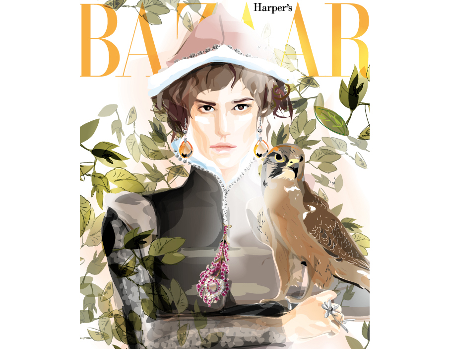 Fairy Tales editorial for Harper's Bazaar