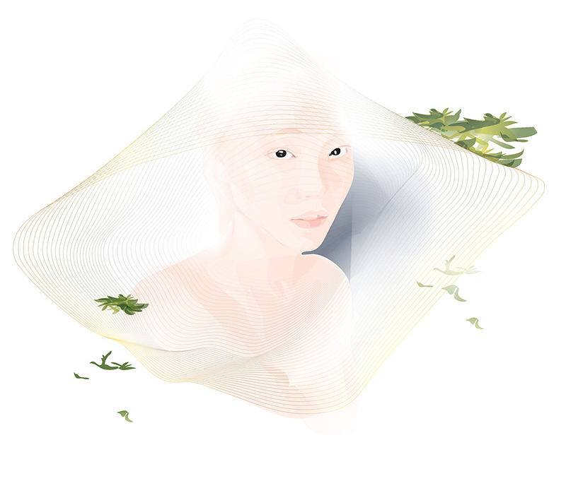 AlphaGo fragrance illustration