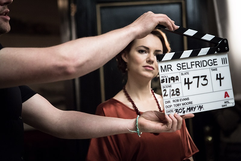 Kara Tointon in Mr. Selfridge season 3. ITV Studios.