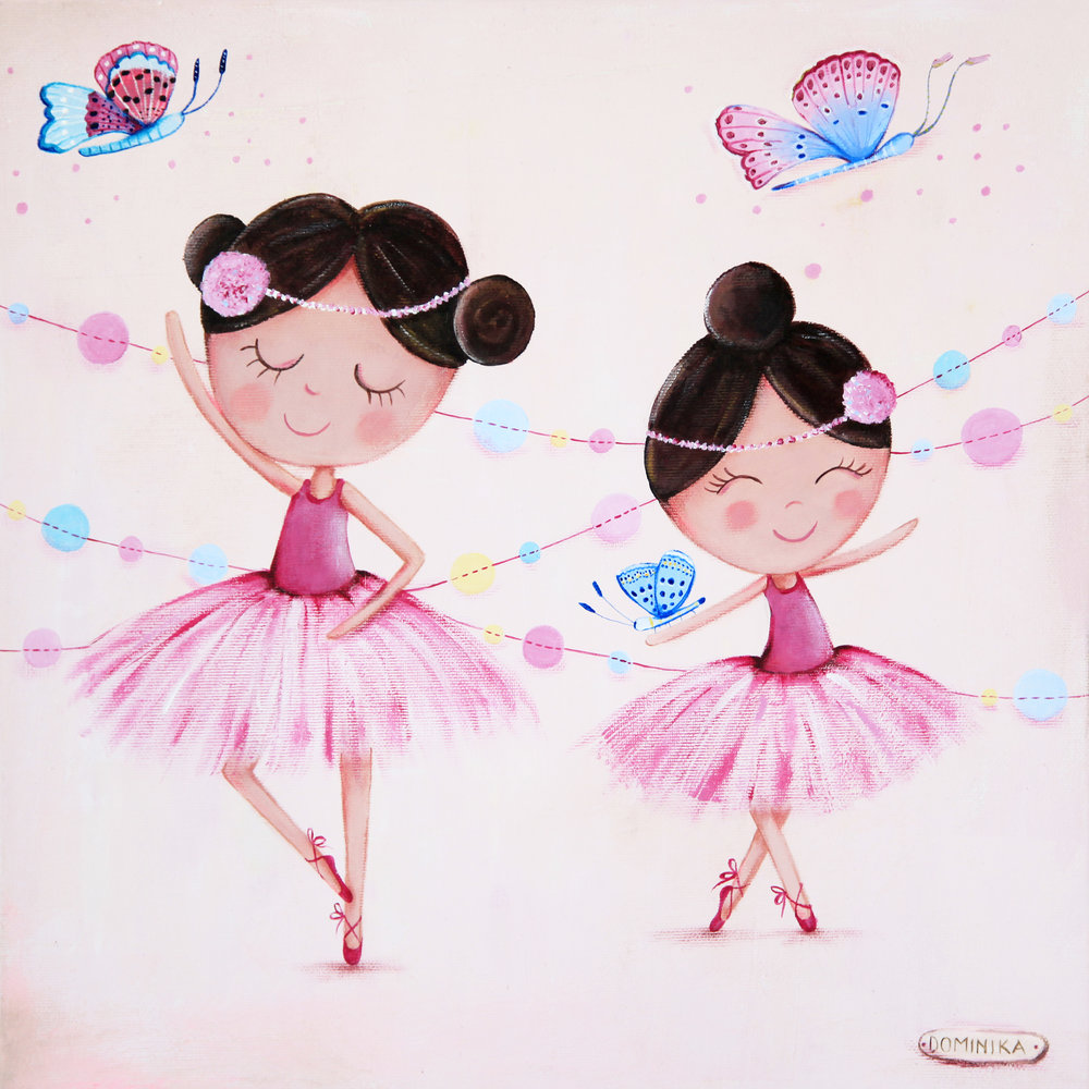 Ballerinas ~ Dominika Bozic ~ 2016