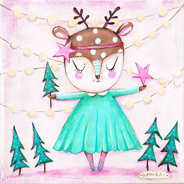 Magic Christmas Tree ~ Dominika Bozic ~ 2015