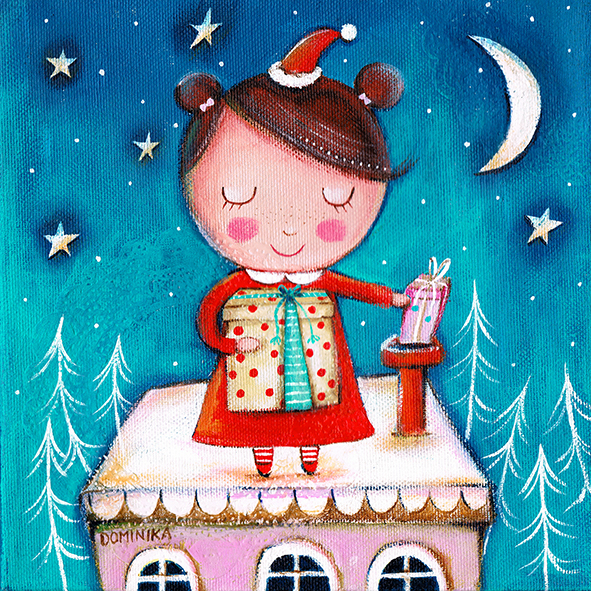 Santa is a girl ~ Dominika Bozic ~ 2015
