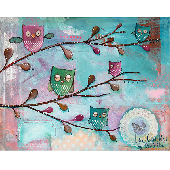 Owls world ~ Dominika Bozic ~ 2013