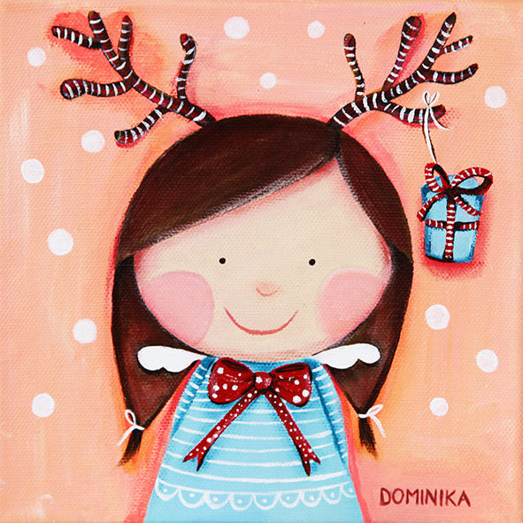 Deer angel ~ Dominika Bozic ~ 2013