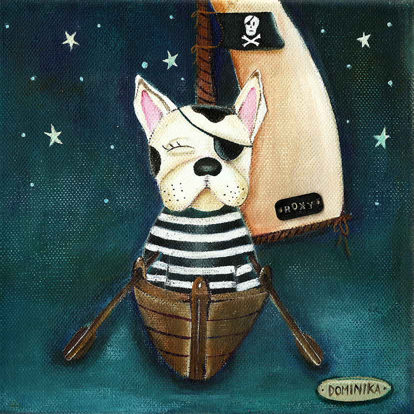 French bulldog sailor ~ Dominika Bozic ~ 2013