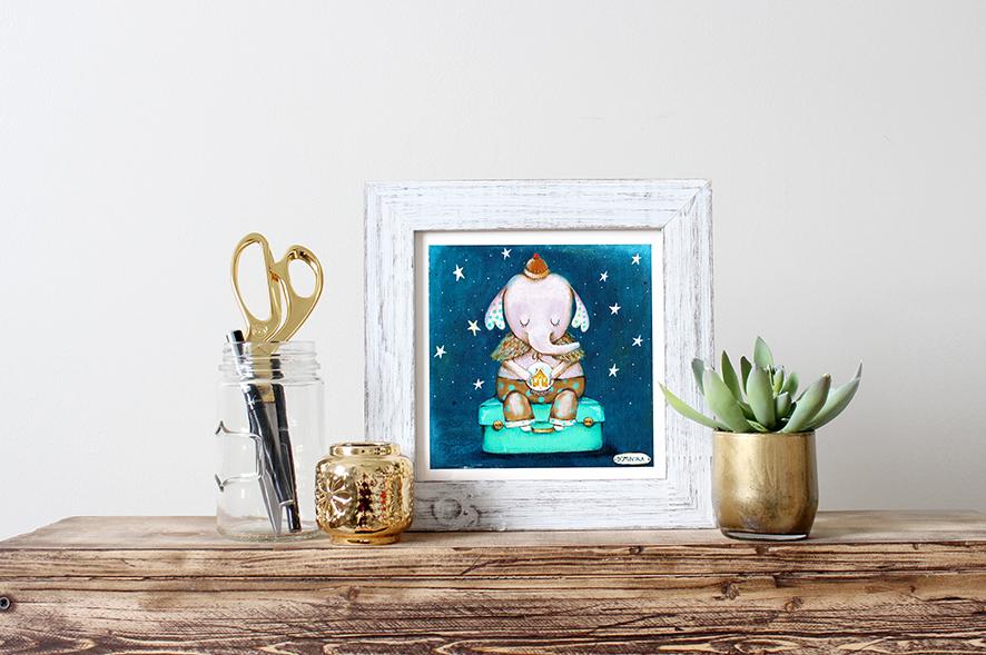 elephant print framed.jpg
